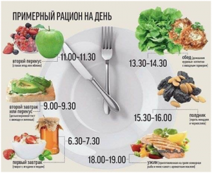 Режим питания и рацион