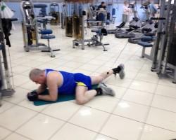 Лягушка, на развитие мышц ног