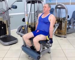 Разгибание ног — исходное, на развитие мышц ног