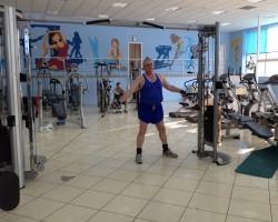 Разворот плеча с нижнего блока — исходное, на укрепление и развитие плеч